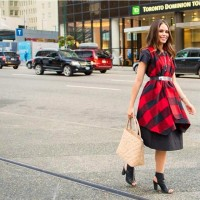 @rinasamantha Plaid Dress.